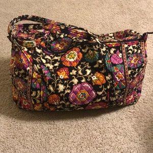 Large Vera Bradley Weekend Bag